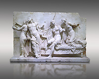 Roman Relief panal from the Naples Museum of Archaeology, Italy
