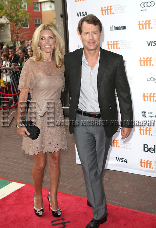 Helen Labdon & Greg Kinnear attending the The 2012 Toronto International Film Festival.Red Carpet Arrivals for 'Writers' at the Ryerson Theatre in Toronto on 9/9/2012