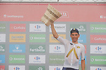 Stefan Denifl (AUT) Aqua Blue Sport wins Stage 17 of the 2017 La Vuelta, running 180.5km from Villadiego to Los Machucos. Monumento Vaca Pasiega, Spain. 6th September 2017.<br /> Picture: Unipublic/&copy;photogomezsport   Cyclefile<br /> <br /> <br /> All photos usage must carry mandatory copyright credit (&copy; Cyclefile   Unipublic/&copy;photogomezsport)