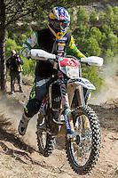Australian's Lachlan Standford during the first day World trophy class of the FIM international six days of enduro 2016 in Navarra, Spain. October 11, 2016. (ALTERPHOTOS/Rodrigo Jimenez) NORTEPHOTO.COM