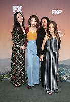 "NORTH HOLLYWOOD, CA - MAY 10: Mikey Madison, Hannah Alligood, Pamela Adlon, Olivia Edward, at FYC  Event For Season 3 Of FX's ""Better Things"" at Saban Media Center in North Hollywood, California on May 10, 2019. <br /> CAP/MPIFS<br /> ©MPIFS/Capital Pictures"