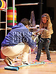 Julia Casey takes part in Bake and Play in the Barbican.<br /> <br /> Photo: Jenny Matthews