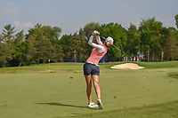 Michelle Wie (USA) hits her approach shot on 8 during round 4 of the 2018 KPMG Women's PGA Championship, Kemper Lakes Golf Club, at Kildeer, Illinois, USA. 7/1/2018.<br /> Picture: Golffile | Ken Murray<br /> <br /> All photo usage must carry mandatory copyright credit (&copy; Golffile | Ken Murray)