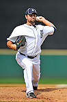 9 March 2011: Detroit Tigers' pitcher Brad Thomas on the mound during a game against the Philadelphia Phillies at Joker Marchant Stadium in Lakeland, Florida. The Phillies defeated the Tigers 5-3 in Grapefruit League play. Mandatory Credit: Ed Wolfstein Photo
