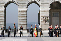 Pascua Militar' ceremony at The Royal Palace. January 06, 2013. (ALTERPHOTOS/Caro Marin)