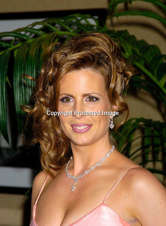 Martha Byrne ..at the 10th Annual Daytime Television Salutes St. Jude Children's Research Hospital Benefit on October 8, 2004 at the Marriott Marquis Hotel in New York City...Photo by Robin Platzer, Twin Images
