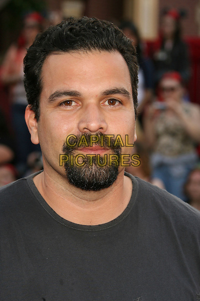 "RICARDO CHAVIRA.""Pirates Of The Caribbean: At World's End"" World Premiere held at Disneyland, Anaheim, California, USA,.May 19th, 007.3 headshot portrait goatee facial hair .CAP/ADM/RE.©Russ Elliot/AdMedia/Capital Pictures"