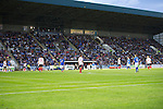 St Johnstone v FC Minsk...08.08.13 Europa League Qualifier<br /> 8,500 fans attended the match.<br /> Picture by Graeme Hart.<br /> Copyright Perthshire Picture Agency<br /> Tel: 01738 623350  Mobile: 07990 594431