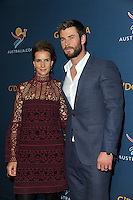 www.acepixs.com<br /> January 23, 2017  New York City<br /> <br /> Rachel Griffiths and Chris Hemsworth attending A Virtual Tour of Australia at Hudson Mercantile on January 23, 2017 in New York City.<br /> <br /> Credit: Kristin Callahan/ACE Pictures<br /> <br /> <br /> Tel: 646 769 0430<br /> Email: info@acepixs.com