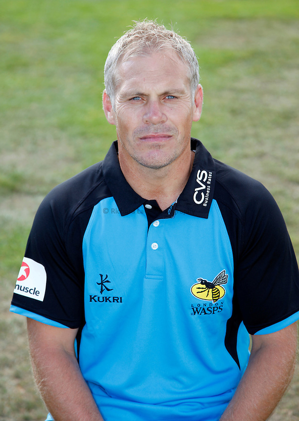 Photo: Richard Lane/Richard Lane Photography. London Wasps head shots photocall. 03/09/2013. Defence Coach, Brad Davis.