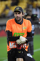 Hurricanes physio Cam Shaw during the Super Rugby match between the Hurricanes and Chiefs at Westpac Stadium in Wellington, New Zealand on Friday, 13 April 2018. Photo: Dave Lintott / lintottphoto.co.nz