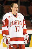 Laurel Koller (BU - 17) - The Boston University Terriers defeated the Providence College Friars 5-3 on Saturday, November 14, 2009, at Agganis Arena in Boston, Massachusetts.