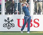 Justin Rose of England tees off the first hole during the 58th UBS Hong Kong Golf Open as part of the European Tour on 08 December 2016, at the Hong Kong Golf Club, Fanling, Hong Kong, China. Photo by Marcio Rodrigo Machado / Power Sport Images