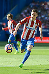 Atletico de Madrid's Kevin Gameiro during La Liga match between Atletico de Madrid and Sevilla CF at Vicente Calderon Stadium in Madrid, Spain. March 19, 2017. (ALTERPHOTOS/BorjaB.Hojas)