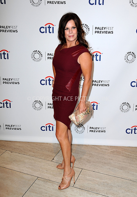 WWW.ACEPIXS.COM<br /> <br /> September 10 2013, LA<br /> <br /> Actress Marcia Gay Harden at the PaleyFest: ABC Fall TV Preview of 'Trophy Wife' at The Paley Center for Media on September 10, 2013 in Beverly Hills, California.<br /> <br /> By Line: Peter West/ACE Pictures<br /> <br /> <br /> ACE Pictures, Inc.<br /> tel: 646 769 0430<br /> Email: info@acepixs.com<br /> www.acepixs.com