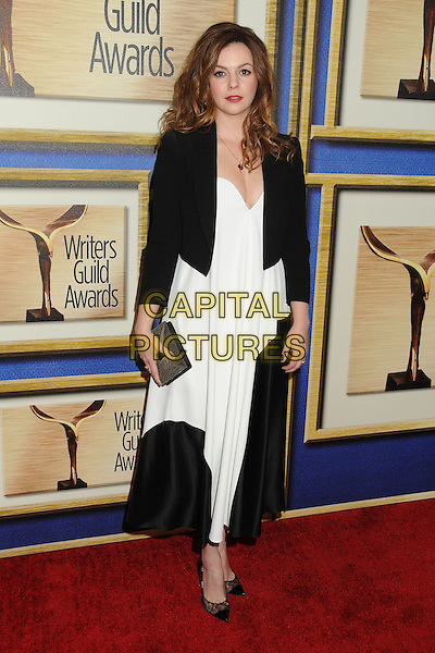 1 February 2014 - Los Angeles, California - Amber Tamblyn. 2014 Writers Guild Awards West Coast held at the JW Marriott Hotel.  <br /> CAP/ADM/BP<br /> &copy;Byron Purvis/AdMedia/Capital Pictures