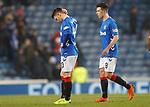 05.12.2018 Rangers v Aberdeen: Glenn Middleton dejection