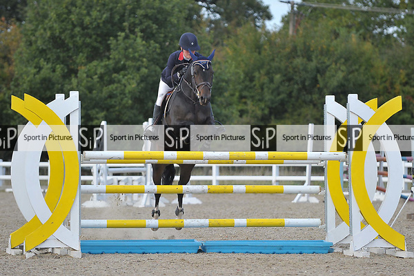 Class 6. Members cup. British showjumping juniors. Brook Farm training centre. Essex. 23/09/2017. MANDATORY Credit Garry Bowden/Sportinpictures - NO UNAUTHORISED USE - 07837 394578