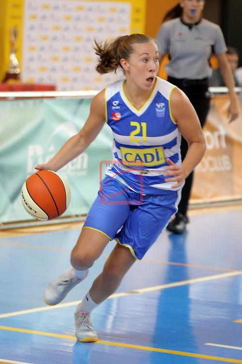 XXVIII Lliga Catalana Femenina 2016.<br /> Cadi La Seu vs Spar Citylift Girona: 71-57.<br /> Svenja Brunckhorst.