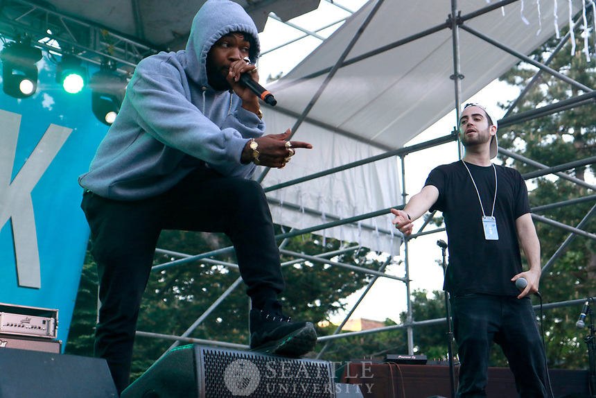 Quadstock May 22nd 2017 - Sam Lachow and Ras Simone performing at Quadstock