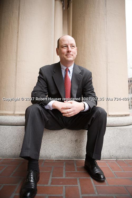 Chris Johns - CFO - PGE: Executive portrait photographs by San Francisco - corporate and annual report - photographer Robert Houser.