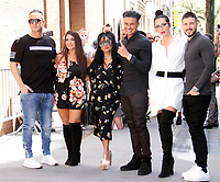 NEW YORK, NY - MAY 2: Mike The Situation Sorrentino, Deena Nicole Cortese, Nicole Poli at ABC's The View promoting Jersey Shore Family Vacation on May 2, 2018 in New York City. Credit: RW/iMediaPunch