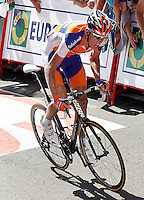Robert Gesink during the stage of La Vuelta 2012 between Vilagarcia de Arousa and Mirador de Erazo (Dumbria).August 30,2012. (ALTERPHOTOS/Acero) /NortePhoto.com<br />