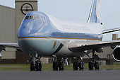 Honolulu, HI - December 25, 2009 -- Air Force One, with United States President Barack Obama and his family aboard, rolls onto the tarmac at Hickam Air Force Base on Thursday, December 24, 2009 in Honolulu, Hawaii..Credit: Kent Nishimura / Pool via CNP