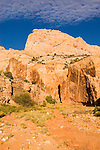 Capitol Reef National Park, rock formation, landform, arid, Southwest America, American Southwest, US, United States, Image ut397-18120, Photo copyright: Lee Foster, www.fostertravel.com, lee@fostertravel.com, 510-549-2202