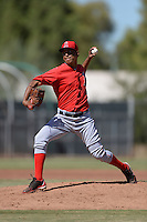 Los Angeles Angels pitcher Ivan Melo (62) during an Instructional League game against the Milwaukee Brewers on October 11, 2013 at Tempe Diablo Stadium Complex in Tempe, Arizona.  Melo missed the entire 2013 season due to injury.  (Mike Janes/Four Seam Images)