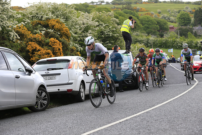 Dennis Bakker Netherlands Candidacy Team Delta from the breakaway group goes for the KOM on the first Cat 3 climb Loughcrew during Stage 1 of the 2017 An Post Ras running 146.1km from Dublin Castle to Longford, Ireland. 21st May 2017.<br /> Picture: Eoin Clarke | Cyclefile<br /> <br /> <br /> All photos usage must carry mandatory copyright credit (&copy; Cyclefile | Eoin Clarke)