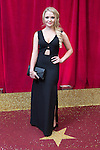 © Licensed to London News Pictures . 16/05/2015 .  The Palace Hotel , Manchester , UK . Lorna Fitzgerald . The red carpet at the 2015 British Soap Awards , The Palace Hotel , Oxford Road , Manchester . Photo credit : Joel Goodman/LNP