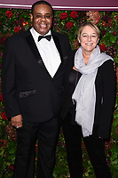 Clive Rowe<br /> arriving for the Evening Standard Theatre Awards 2019, London.<br /> <br /> ©Ash Knotek  D3539 24/11/2019