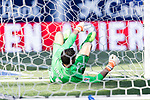 Goalkeeper Salvatore Sirigu of Osasuna in action during the La Liga match between Atletico de Madrid vs Osasuna at Estadio Vicente Calderon on 15 April 2017 in Madrid, Spain. Photo by Diego Gonzalez Souto / Power Sport Images