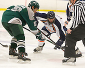 Kyle Greco (Plymouth State - 19), Andrew Cetola (Salem State - 17) CHECK SPELLING - The visiting Plymouth State University Panthers defeated the Salem State University Vikings 3-2 on Thursday, December 1, 2011, at Rockett Arena in Salem, Massachusetts.