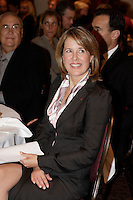 ANDREA C. MARTIN, PRESIDENT AND CHIEF EXECUTIVE OFFICER OF  READER'S DIGEST ASSOCIATION AT THE CANADIAN CLUB OF MONTREAL'S PODIUM, Monday, October 30, 2006 <br /> <br /> photo : (c)  Images Distribution