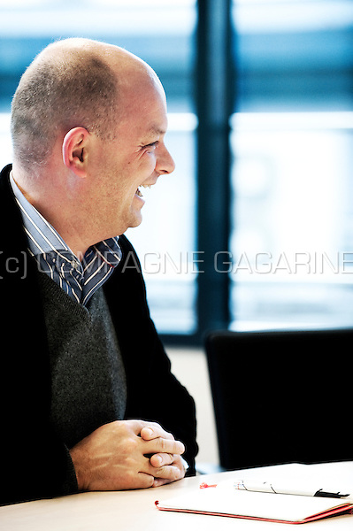 Augustin Wigny, CEO of the private online sales company Cameleon (Belgium, 09/01/2012)