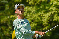 Lydia Ko (NZL) watches her tee shot on 8 during round 2 of the 2018 KPMG Women's PGA Championship, Kemper Lakes Golf Club, at Kildeer, Illinois, USA. 6/29/2018.<br /> Picture: Golffile | Ken Murray<br /> <br /> All photo usage must carry mandatory copyright credit (&copy; Golffile | Ken Murray)