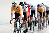 Regan Gough of East Coast North Island  competes in the  Elite Men Omnium 1, Scratch race 10km at the Age Group Track National Championships, Avantidrome, Home of Cycling, Cambridge, New Zealand, Saturday, March 18, 2017. Mandatory Credit: © Dianne Manson/CyclingNZ  **NO ARCHIVING**