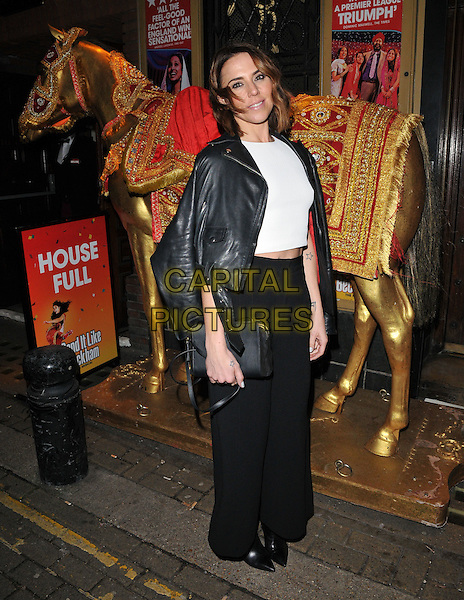 Melanie C ( Melanie Chisholm ) attends the &quot;Bend It Like Beckham&quot; charity gala performance in aid of the Gynaecological Cancer Fund, Phoenix Theatre, Charing Cross Road, London, England, UK, on Friday 27 November 2015.<br /> CAP/CAN<br /> &copy;Can Nguyen/Capital Pictures