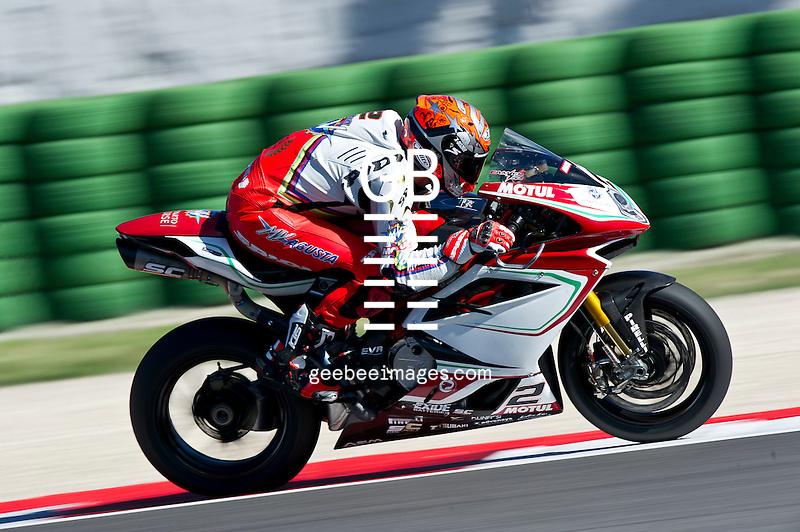 2016 FIM Superbike World Championship, Round 08, Misano, Italy, 16-19 June 2016, Leon Camier, MV Agusta
