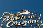 Made in Oregon Sign Portland, Oregon