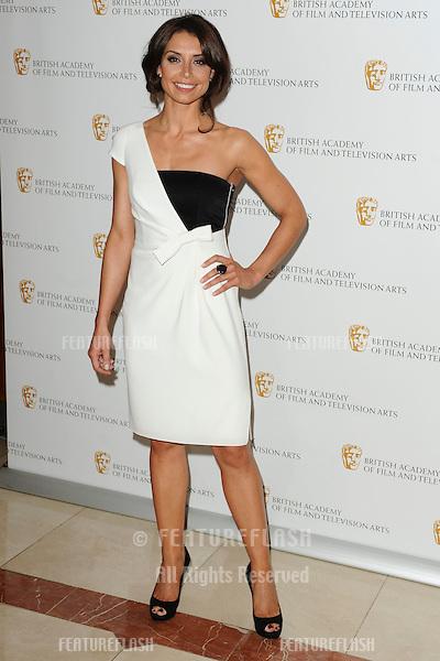 TV Presenter, Christine Bleakley arrives for the BAFTA Craft Awards 2010 at the London Hilton, Park Lane, London. 23/05/2010  Picture by Steve Vas/Featureflash