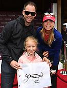 29th September 2017, Windross Farm, Auckland, New Zealand; LPGA McKayson NZ Womens Open, second;  USA's Paula Creamer signs autographs