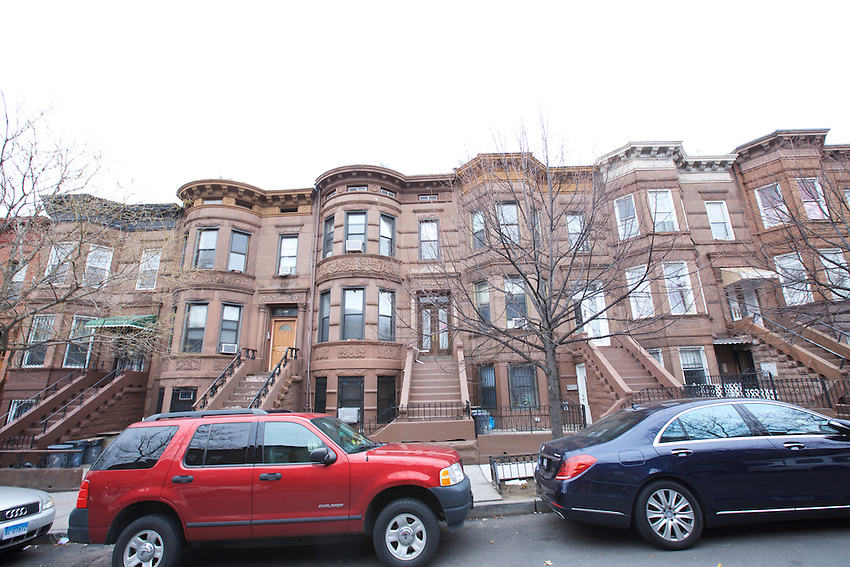 BROOKLYN, NY - JANUARY 16, 2016: 425 50th STREET<br /> A three-family brownstone...listed at $1.5 million.<br /> contact: Nima Yammi, agent. Douglas Elliman<br /> cell: 646.262.6776<br /> LOCATION: 50th Street between 4th and 5th Avenues. CREDIT: Clay Williams for the New York Times.<br /> <br /> &copy; Clay Williams / claywilliamsphoto.com