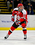 3 January 2009: St. Lawrence Saints' forward Mike McKenzie, a Junior from Whitby, Ontario, in action against the University of Vermont Catamounts during the championship game of the Catamount Cup Ice Hockey Tournament at Gutterson Fieldhouse in Burlington, Vermont. The Cats defeated the Saints 4-0 and won the tournament for the second time since its inception in 2005...Mandatory Photo Credit: Ed Wolfstein Photo
