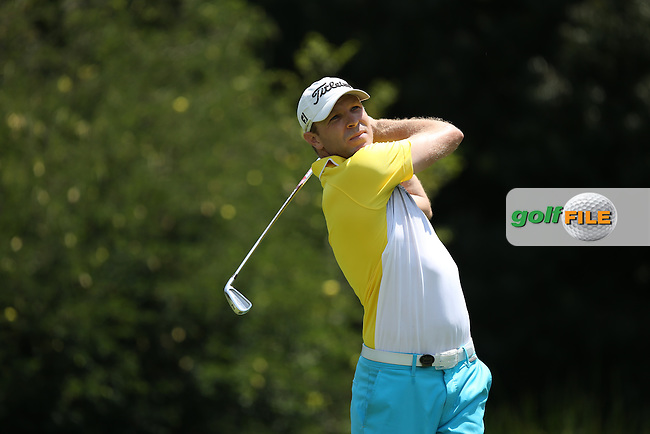 Charl Coetzee (RSA) on the West Course during Round Two of the Joburg Open 2015 at the Royal Johannesburg & Kensington Golf Club, Johannesburg, Gauteng, South Africa. Picture:  David Lloyd / www.golffile.ie. 27/02/2015