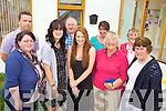 GETTING TO KNOW YOU: Locals enjoying the 'Getting to Know Your Neighbour Day at the Ballyheigue Family Resource Centre last Friday, front l-r: Liz Gaynor, Muiriosa Griffin, Laura Dineen, Ebie Lucid Francis, Alice Lawlor. Back l-r: Seamus Falvey, Ted Coates, Penny Coates, Bridie Lucid.