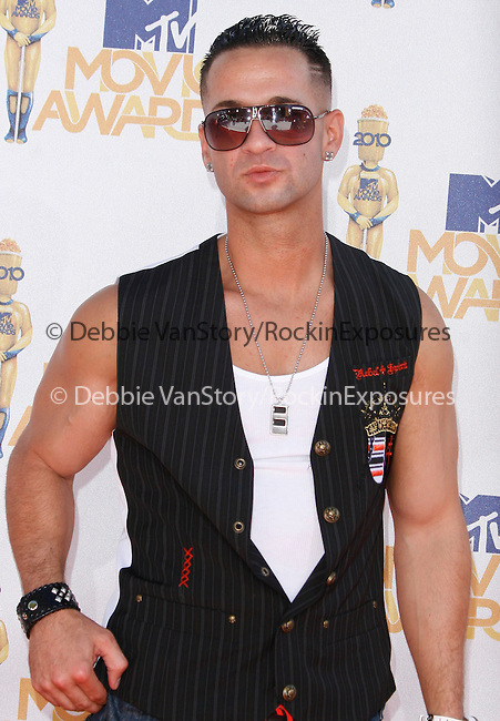 Mike The Situation Sorrentino  at the 2010 MTV Movie Awards held at The Gibson Ampitheatre in Universal City, California on June 06,2010                                                                               © 2010 Debbie VanStory / Hollywood Press Agency