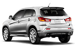 Rear three quarter view of a 2012 Mitsubishi Outlander Sport
